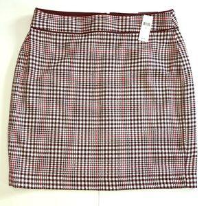🌿Banana Republic Plaid Skirt